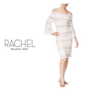 RACHAEL RACHAEL ROY Lace Off-The Shoulder Dress